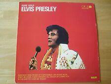 Elvis Presley LP,  Pure Gold, RCA/OPUS # 9113 0625, Czechoslovakia Release