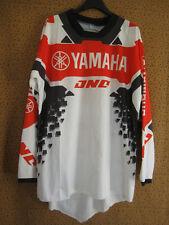 Maillot Motocross Atom YAMAHA Racing Moto cross Vintage Jersey - XL