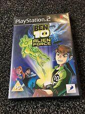 Ben 10  Alien Force  Playstation 2 ps2 PAL ( V.G.C.)