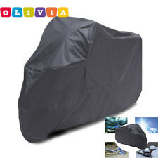 New Motorcycle Waterproof Outdoor Motorbike Rain Bike Cover XL SIZE 140 x240cm