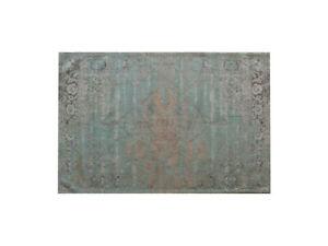 Teppich Jacquard Kelim Vintage Kelly Aqua türkis  240 x 170 cm SOFORT
