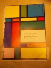 Structural Plastics Corp Catalog~PermAform Architectural Panels~Asbestos~1962