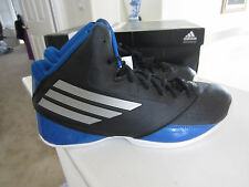 Adidas 3 Series Black/Blue 2014 Mens Basketball Shoes Sneakers C73921Size 12