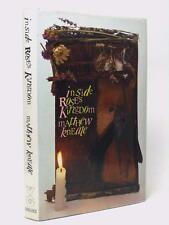 MATTHEW KNEALE Inside Rose's Kingdom SIGNED FIRST EDITION 1st/1st HB DW 1989