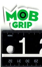 MOB GRIP STICKER Mob Grip Green/Black 1.75 in x 1 in Skateboard Decal