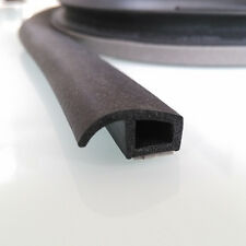 1M P-Type Waterproof Car Door Sealing Truck Motor Rubber Door Seal Weather Strip