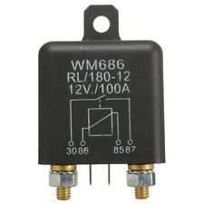 12V 100Amp 4-Pin Heavy Duty ON/OFF Switch Split Charge Relay For Auto Boat R5Y7