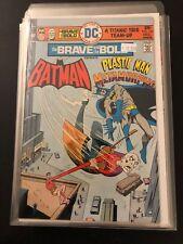 Brave and the Bold 123 Batman High Grade DC Comic Book