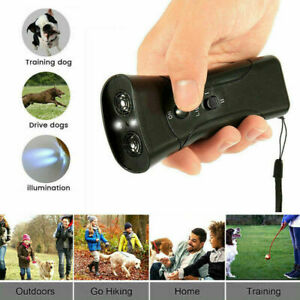 Ultraschall Hundevertreiber Anti-Bell Gerät Hundeabwehr Abschreckung Trainer