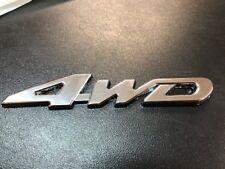 NEW 4WD 4X4 BADGE CAR STICKER X1 FOR TOYOTA NISSAN JEEP SUBARU HOLDEN FORD KIA