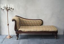 Beautiful Antique Chaise Lounge Victorian Sofa Chair   - Delivery Available