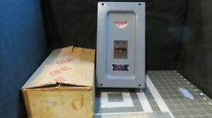 L100MB Wadsworth Circuit Breaker Enclosure & 2 Pole 100 Amp 120/240V Breaker