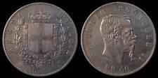 pci740) Regno Vittorio Emanuele II  lire 5 scudo 1870