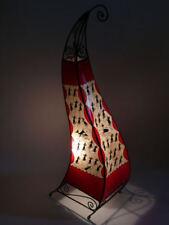 Marokko Henna Leuchte orientalische Stehlampe aus Leder Marrakesch - 100 cm