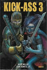 KICK-ASS T. 3 - PANINI COMICS - MARK MILLAR - JOHN ROMITA JR -2014- NEUF !