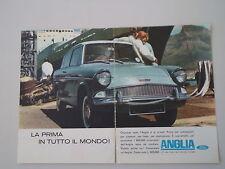 advertising Pubblicità 1963 FORD ANGLIA