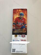 unused hockey tickets Montreal Canadiens 2017 season Max Pacioretty