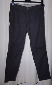 Quechua Mens Black Panther Walking Trousers W33 L32