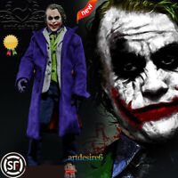 1:6 scale Male figure doll Heath Ledger The Dark Knight JOKER Anime Movable 12""