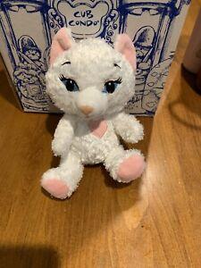 Build a Bear Smallfrys - White SASSY KITTY Cat Plush Stuffed Animal Toy