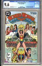 WONDER WOMAN #1  CGC 9.6 WP NM+  DC Comics 1987  George Perez 1st Themyscira