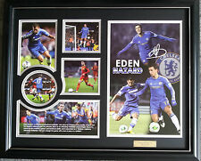 EDEN HAZARD SIGNED LIMITED EDITION FRAMED MEMORABILIA
