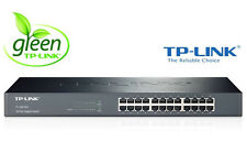 "Netzwerk Switch 24 Ports 19"" RACK 10/100/1000 Mbit LAN Gigabit TP-Link TL-SG1024"