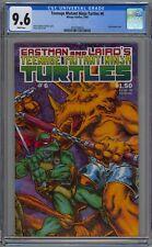 Teenage Mutant Ninja Turtles #6 CGC 9.6 NM+ Wp Mirage Comics 1986 Eastman Laird