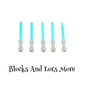 NEW LEGO 5 x Star Wars Grey Transparent Blue Lightsabers Pieces Part 30374 64567