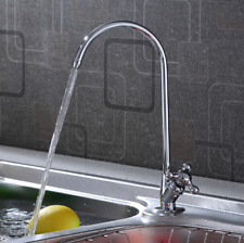 1/4'' Reverse Osmosis Chrome Plated Kitchen  Drinking Water Filter Faucet US