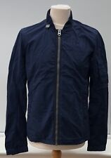G-STAR RAW Sartho Blue Full Zip Overshirt Lightweight Jacket Top Size S M L BNWT