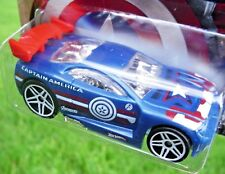 AVENGERS Age of Ultron CAPTAIN AMERICA Hot Wheels POWER RAGE - New SEALED Pack!