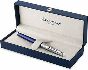 Waterman Hemisphere Rollerball Pen Deluxe Blue Lounge New In Box 211787