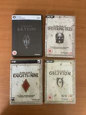 The Elder Scrolls PC Game Bundle IV Oblivion, Shivering Isles, Skyrim, Knights