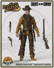 "Dime Novel Legends 1:18 scale (4"") old west action figure Cowpuncher"