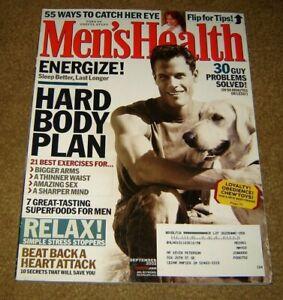 Men's Health Magazine RELAX Simple Stress Stoppers September 2002