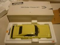 A Danbury mint scale model car of a 1969 Dodge charger R/T, boxed