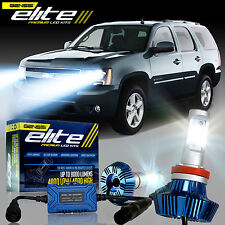 GENSSI Elite LED Bulb Headlight Lamp Upgrade Low Kit For Chevy Tahoe 2007-2017