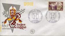 FRANCE FDC - 649 1562 1 ENCLAVE DES PAPES A VALREAS - 25 Mai 1968