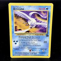 Articuno - Black Star Promo 22 - WoTC Pokemon Card with Insert - Near Mint NM