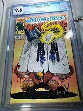 Marvel Comics Presents #100 Wolverine CGC Graded 9.6