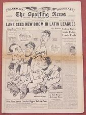 11-13-57 Sporting News Dodgers New Manager Alston on Cover  Baseball All-Stars