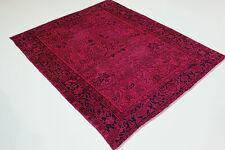 Exclusif Vintage de Qualité Rose Used Look Perse Tapis D'Orient 2,67 X 2,16
