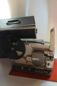Super 8 Tonfilmprojektor Bolex SM8 + Lautschprecher Transport Koffer