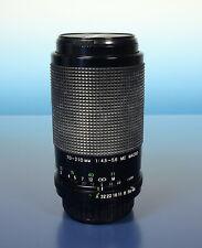 Exakta 70-210mm/4.5-5.6 MC Macro Lens Obiettivo per Pentax K - (40786)