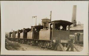 LNER Y7, J75 & J76 LOCOMOTIVES ON SHED, ORIGINAL REAL PHOTOGRAPH POSTCARD