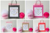 Personalised Hen Party Bags Bride Tribe Gift Favour Filled / Bag only Floral-H