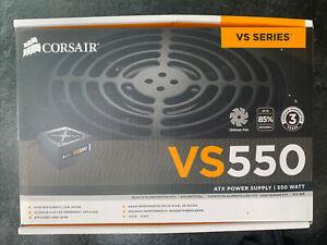 Corsair CP-9020097-UK VS Series VS550 550W 80+ Power Supply Unit - Black