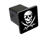 Graphics and More Stereoscopic Skull 3D Tow Trailer Hitch Cover Plug Insert