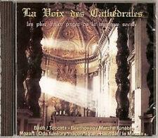 501 // LA VOIX DES CATHEDRALES MUSIQUES SACREES CD NEUF